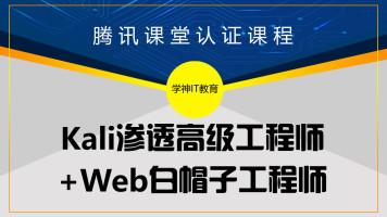Kali安全渗透+Web白帽子高级工程师+黑客攻防-高级课-学神IT