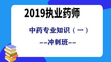 2019执业药师-中药专业知识(一)冲刺班