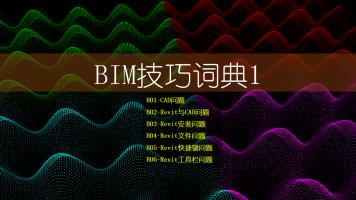 BIM技巧词典1