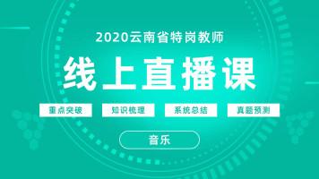 2020年云南省特岗教师直播课-音乐