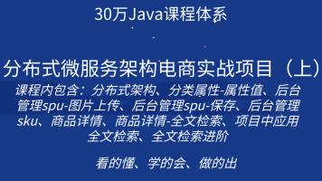 (独家)分布式微服务架构电商实战项目(上)