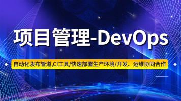 项目管理-DevOps【升职加薪,只争朝夕!】