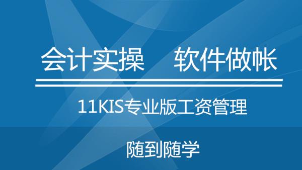 31金蝶KIS专业版工资管理