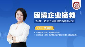 贾丽丽:困境企业转型的战略与战术