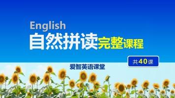 自然拼读(体系完整,共40课)