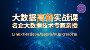 大数据项目实战特训营Hadoop/Flink/Spark/机器学习【视频教学】