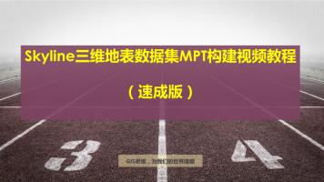 Skyline三维地表数据集MPT构建视频教程
