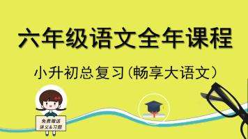 六年级语文全年课程 小升初大语文