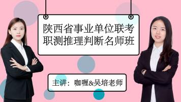 陕西省事业单位联考职测推理判断名师班