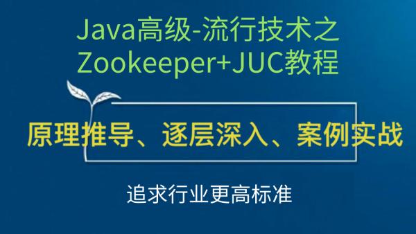 Java高级-流行技术之Zookeeper+JUC教程