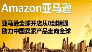 Amazon亚马逊跨境电商全球开店VIP课-助力中国卖家产品走向全球