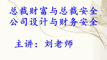 (更新0915)总裁财富与总裁安全:公司设计与财务安全ok