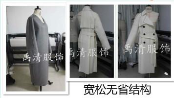 服装设计制版服装裁剪服装纸样服装打版之宽松无省结构的原理应用