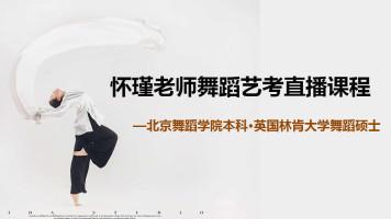 怀瑾老师舞蹈艺考直播课程