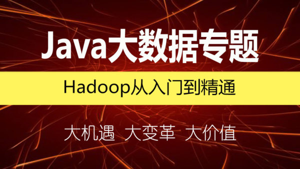 Hadoop从入门到精通/Java大数据/Hadoop专题/分布式解决方案