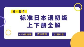 【宵寒日语】标日初级考研版