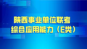 医疗综合应用能力(E类)——陕西事业单位联考