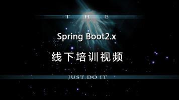 一看就有料的SpringBoot2.x完整视频