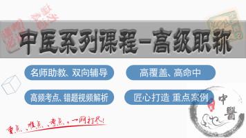 中医学高级职称中医全科、内科、骨伤科、妇科等系列高级职称课程