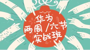【新盟教育】华为两周六节小白入门实战班
