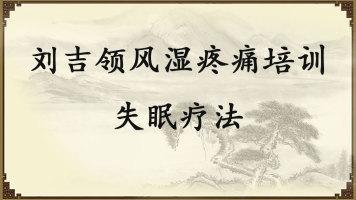 刘吉领风湿疼痛培训——失眠