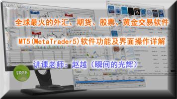 MT5软件功能及界面操作详解