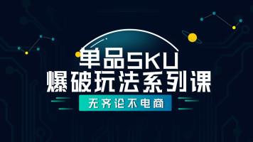 【齐论京东/专注京东培训】京东运营之单品SKU爆破玩法系列课