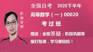 自考高等数学00020考过班(2020下半年)