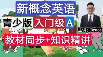 【精品】新概念英语青少版(入门级A)教材同步+知识精讲