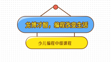 龙博才智-编程改变生活 中级系列课程