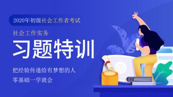 2020年初级社会工作者【社工实务】社工习题特训班