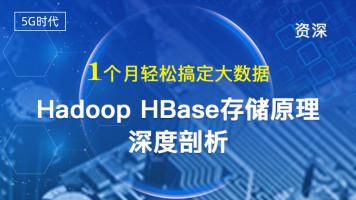 【资深】1个月轻松搞定大数据,Hadoop HBase存储原理深度剖析