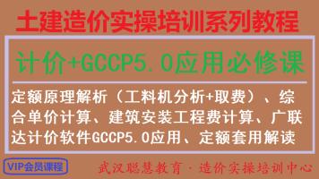 模块六:定额原理解析+GCCP5.0软件应用+定额套用实战【线上VIP】