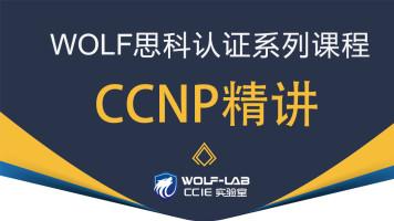 5IE讲师,WOLF CCIE实验室CCNP经典课程-精讲