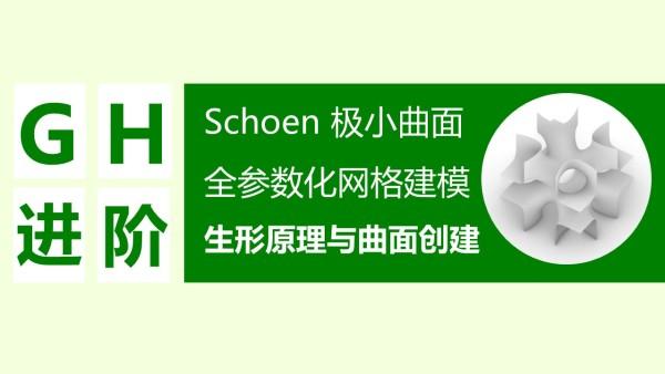 【Grasshopper参数化建模】Schoen极小曲面全参生形 原理与实现