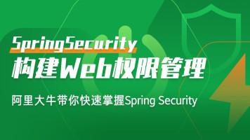 构建Web权限管理/动态权限设计「SpringBoot+Spring Security」