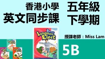 香港小学英文同步班(五年級下學期5B共14堂)