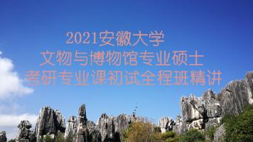 2021安徽大学文博综合348考研专业课精讲全程班