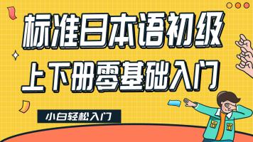 标准日本语初级上下册应试高分精讲班高考·考研·N4基础课