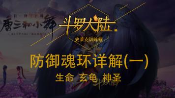 【斗罗大陆H5】防御魂环详解(一)