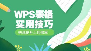 WPS表格实用技巧