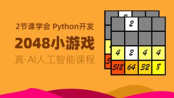 Python编程|实战项目|面试必备|2048小游戏|时间复杂度|必备基础