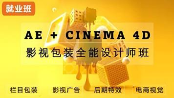AE+C4D+PR影视后期集训营 剪辑 特效 产品建模渲染短视频制作设计