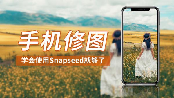 手机修图/学会使用Snapseed就够了/好摄帮
