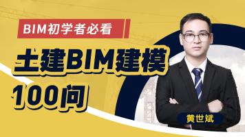 BIM初学者:土建建模常见问题100问