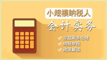 会计实操/小规模纳税人会计实务/会计全盘账