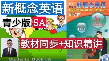 【精品课】新概念英语青少版(5A)教材同步+知识精讲