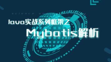 Java实战系列框架之Mybatis解析