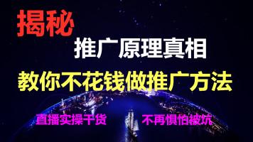网络seo网站互联网推广各种推广词语解答和推广方式的原理解析