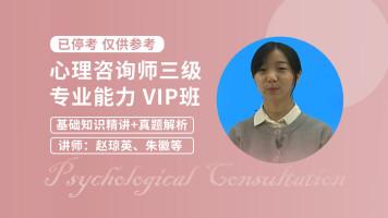 心理咨询师(三级)专业能力网授VIP班 教材精讲班+真题解析班